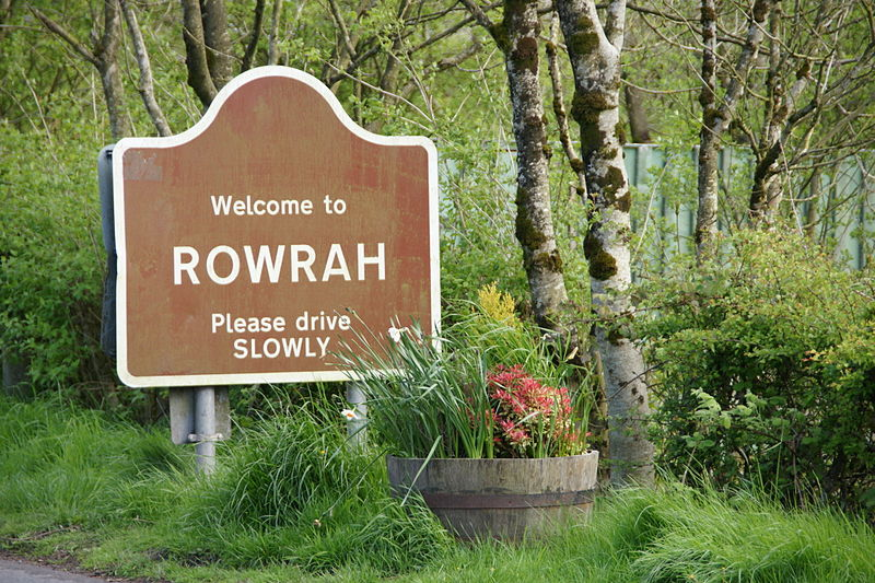 File:Weclome to Rowrah Please drive SLOWLY.jpg