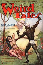 Weird Tales cover image for April 1934