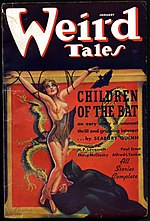 Weird Tales cover image for January 1937