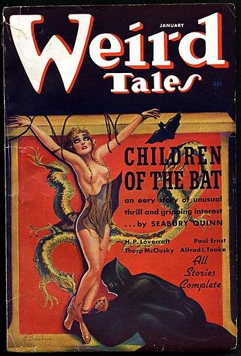 Weird Tales January 1937