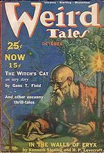 Weird Tales cover image for October 1939