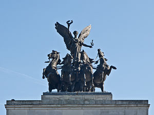 Wellington Arch - The Quadriga