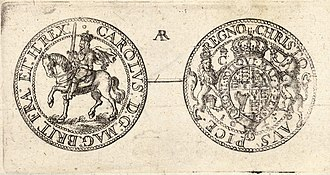 Royal Mint - Charles I Civil War half-crown