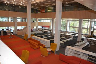 Wentworth Institute of Technology - Image: Wentworth's Douglas D. Schumann Library & Learning Commons