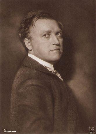 Werner Krauss - Krauss about 1920
