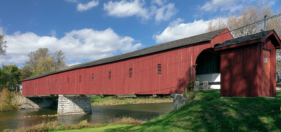 West Montrose Covered Bridge (Oct. 2018)