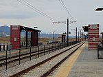 West at Daybreak Parkway station, Apr 16.jpg