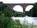 Wetheral Aqueduct over River Eden - geograph.org.uk - 916223.jpg