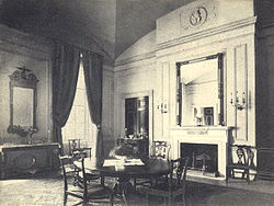 The Family Dining Room During The Administration Of Theodore Roosevelt.
