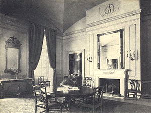 Family Dining Room - The Family Dining Room during the administration of Theodore Roosevelt.