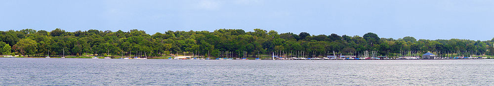 White Rock Lake panorama