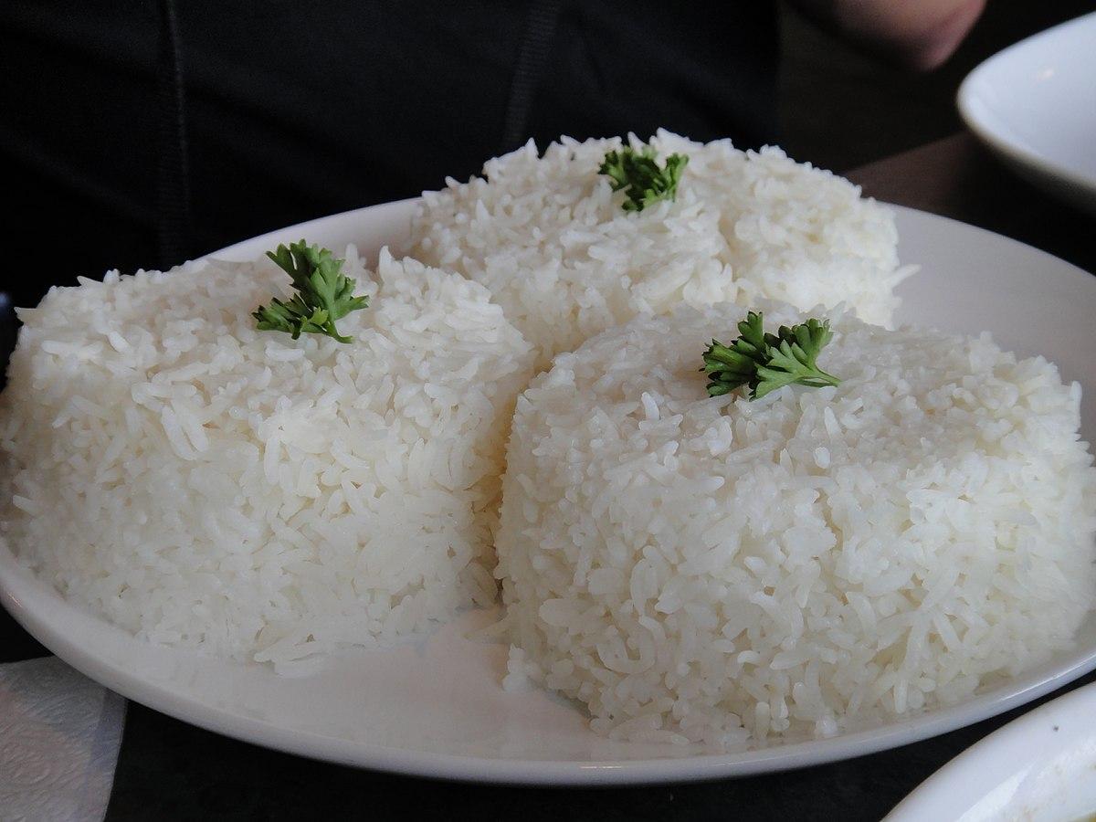 Arroz blanco (gastronomía) - Wikipedia, la enciclopedia libre