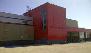 Whitecourt Wolverines - Scott Safety Centre, home of the Whitecourt Wolverines