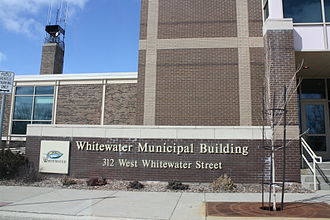 Whitewater, Wisconsin - City hall