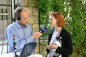 Wikimania interview dlf3