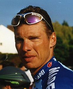 Wilfried Peeters alla Parigi-Tours 1997