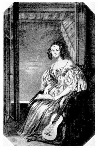1835 in Sweden - Christina Enbom by Maria Röhl, 1830s
