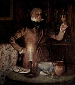 Wilkins Micawber from David Copperfield art by Frank Reynolds (2)