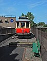 Willamette Shore Trolley car 514 at Lake Oswego terminus (2014).jpg