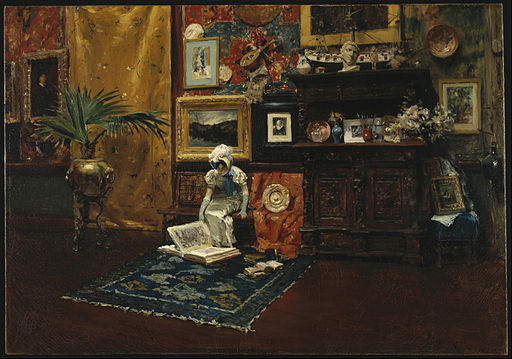 William Merritt Chase - Studio Interior - Google Art Project