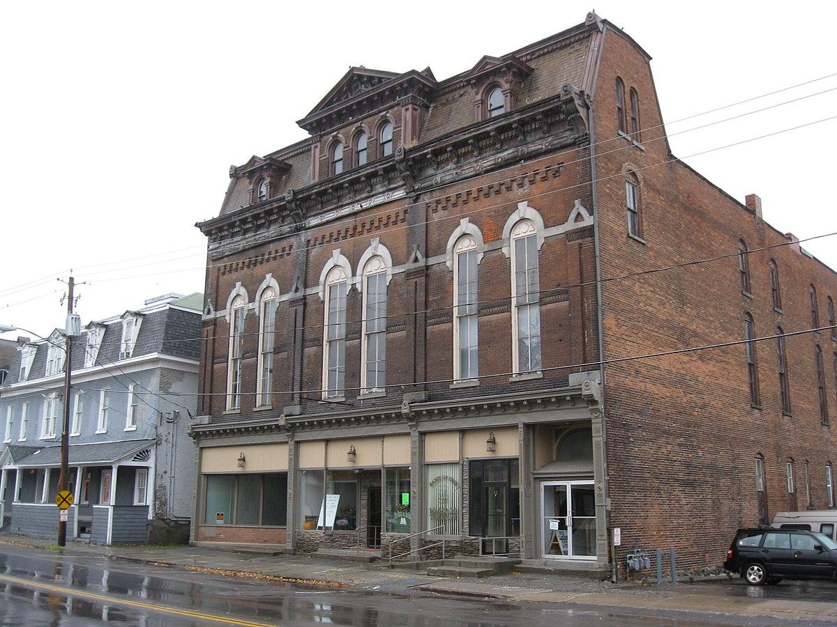 exchange street historic district attica new york