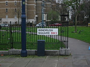 MV Empire Windrush - Windrush Square, London (2006)