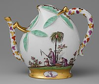 Wine pot in the shape of a peach (cadogan type) MET DP149937 (cropped).jpg