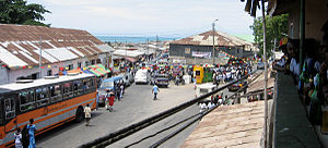 Winneba - Winneba during Aboakyer festival