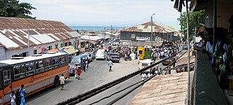Winneba - Winneba during Aboakyer festival