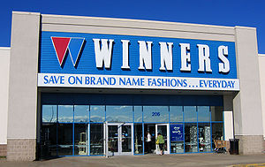 Winners - Winners store in Bayers Lake Business Park with 1980s logo.