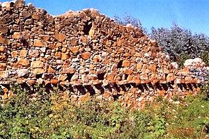 Viracochapampa - Wall in Wiracochapampa
