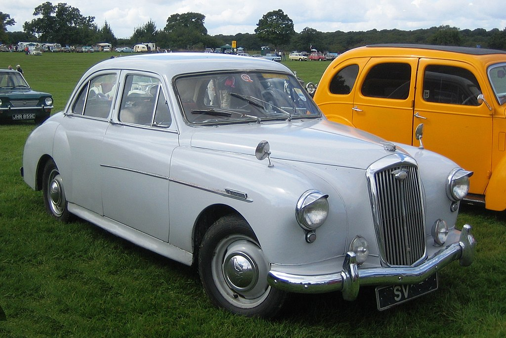 Wolseley Four forty four ca 1955 in Hertfordshire