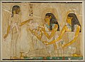 Women at a Banquet, Tomb of Rekhmire MET 30.4.78 EGDP012987.jpg