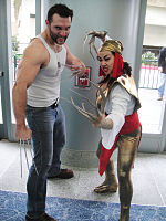 File:WonderCon 2012 - Wolverine and Lady Deathstrike (7019461695).jpg