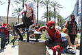 WonderCon 2015 - Spider-Gwen and Spider-Man (16863367009).jpg