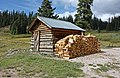 Wood Shed In Colorado Rocky Mountains September 2013.JPG