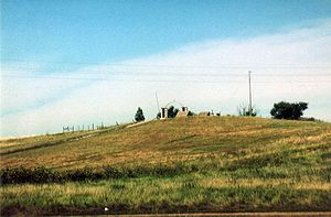 Wounded Knee Battlefield - Image: Wounded Knee 96