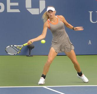 Caroline Wozniacki - Wozniacki during the 2008 US Open