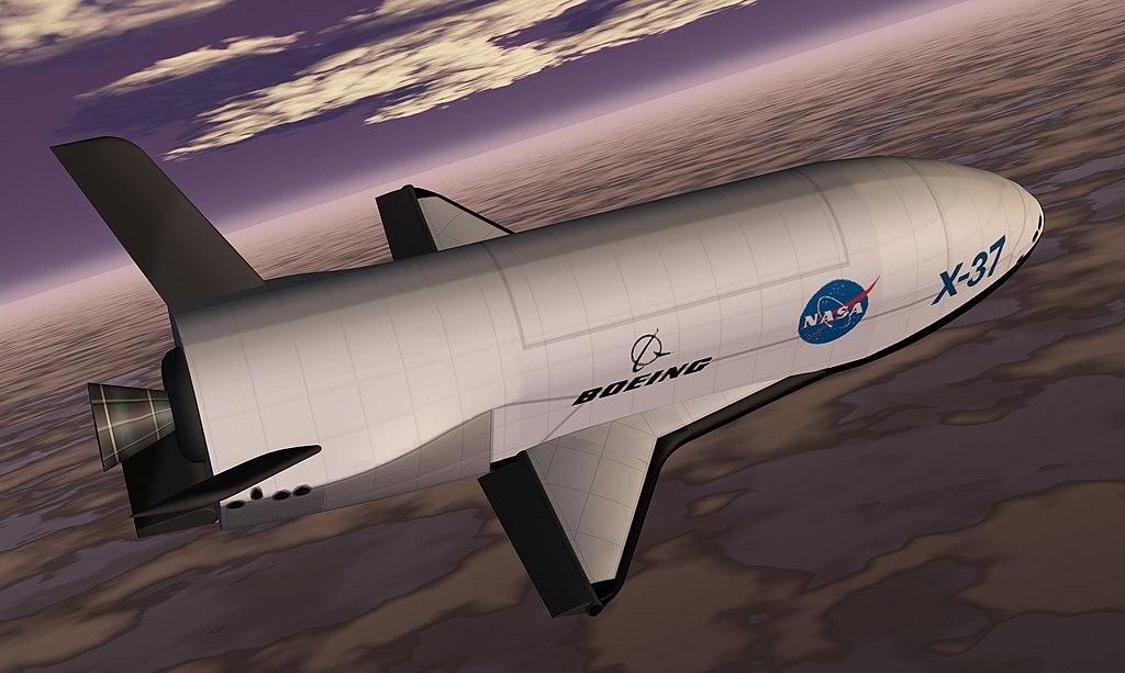 künstlerische Darstellung X-37B
