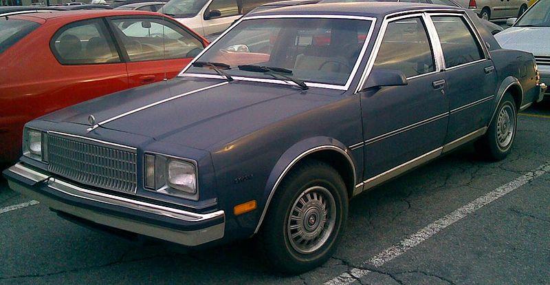 silver 1980 Buick Skylark,