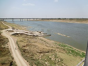 Kalpi - Yamuna River( Road Bridge)