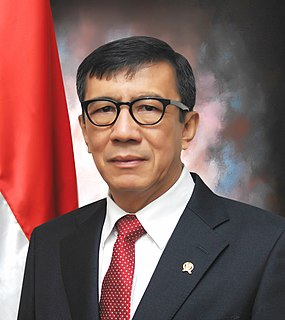 Yasonna Laoly Indonesian politician