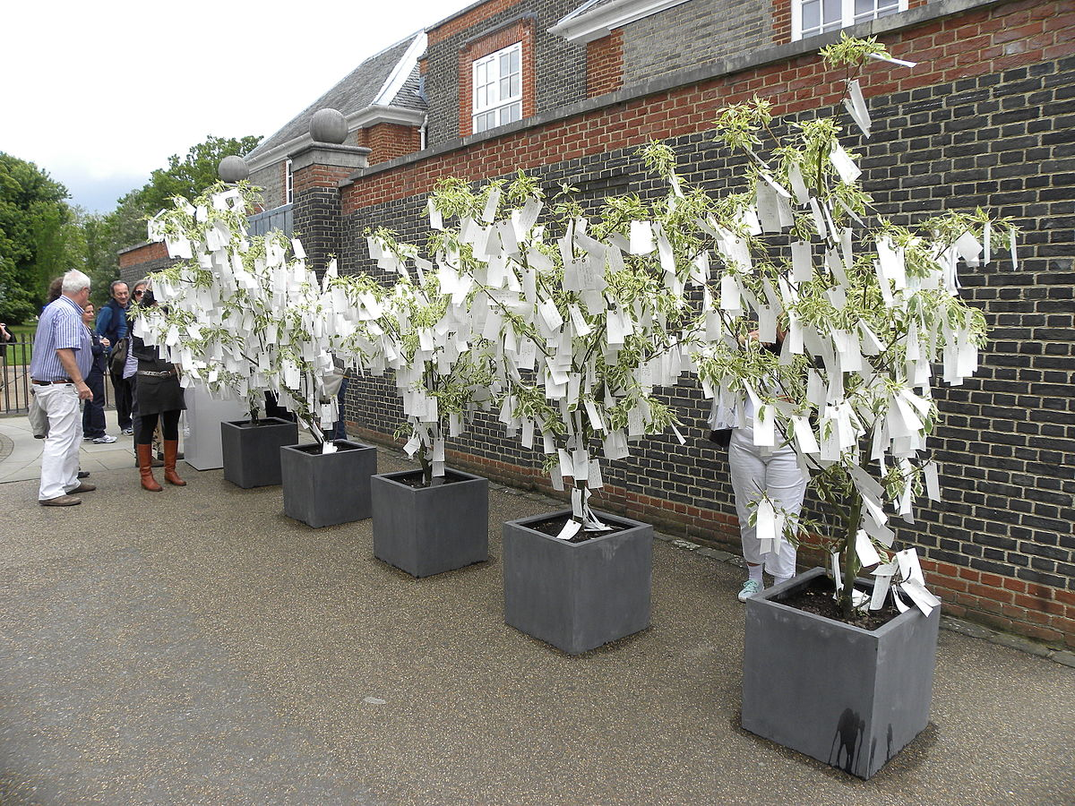 wish tree yoko ono art series wikipedia