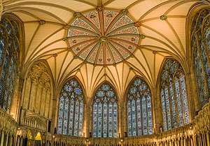 York Minster - The chapter house