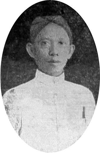 Ki Hajar Dewantara - Dewantara in his youth