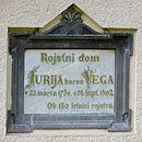 Zagorica pri Dolskem Slovenia - plaque.JPG