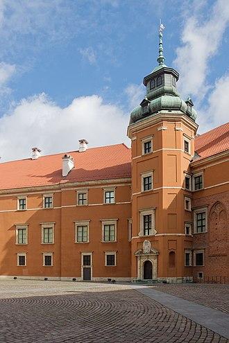 Royal Castle, Warsaw - Władysław's Tower.