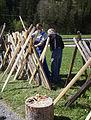 Zaunreparatur beim Museum Arlerhof in Abtenau 19.JPG