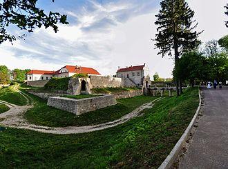 Zbaraski - Image: Zbarazh Castle Park 3