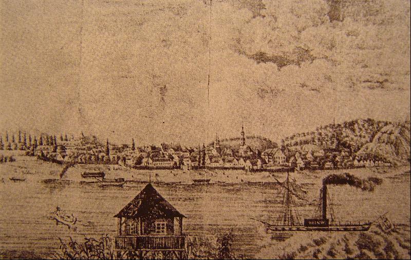 Zemun oko 1850